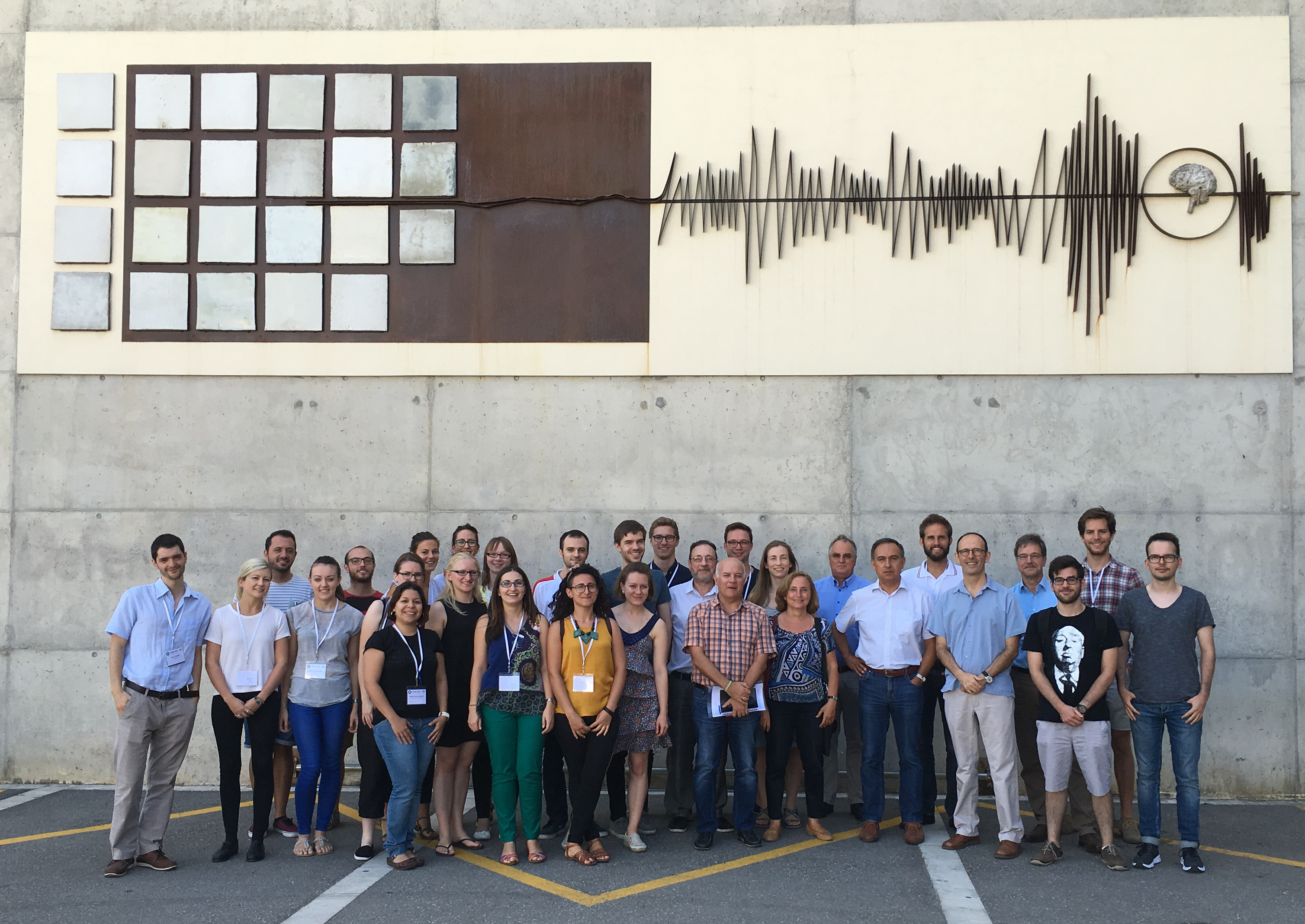 Participants of 2016 ESSIB in Barcelona